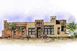 Sketch of a Las Cruces Townhome